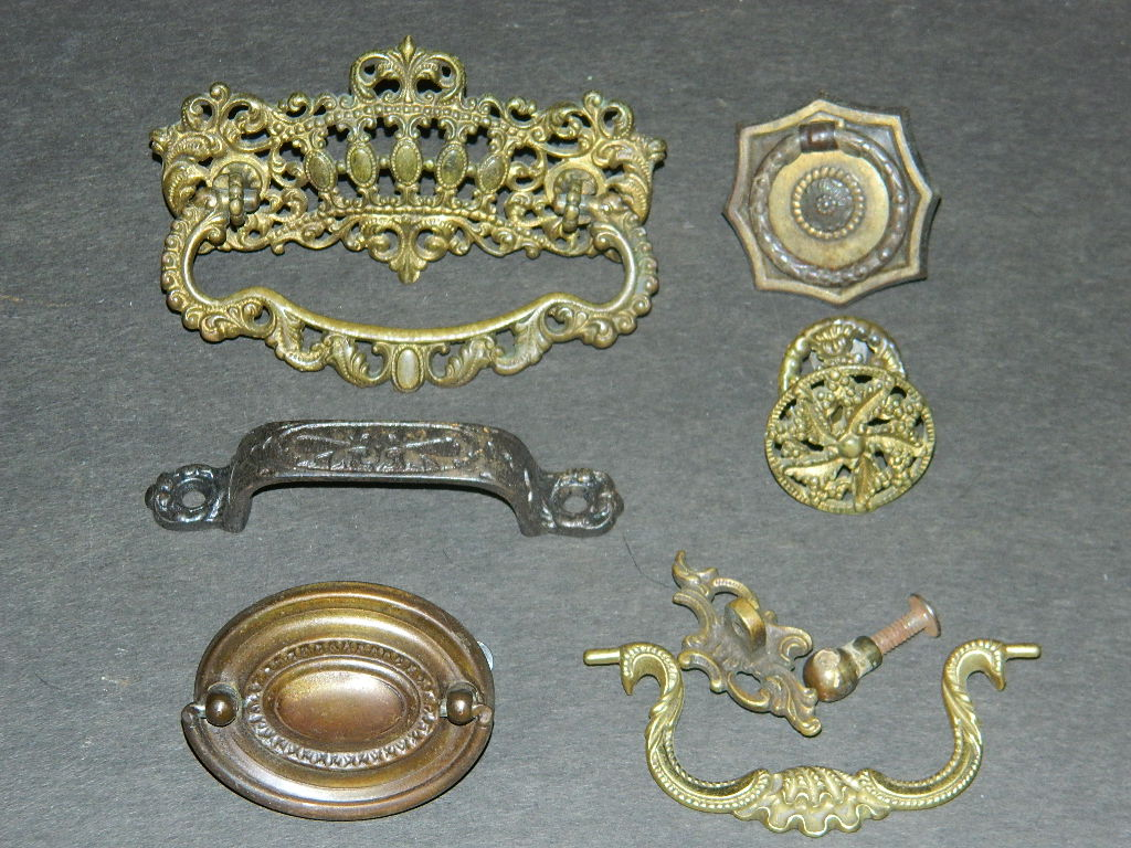 Antique Hardware, Restoration Hardware, Drawer Pulls - Robinson's Antique Hardware - French Provincial Style Drawer Pulls