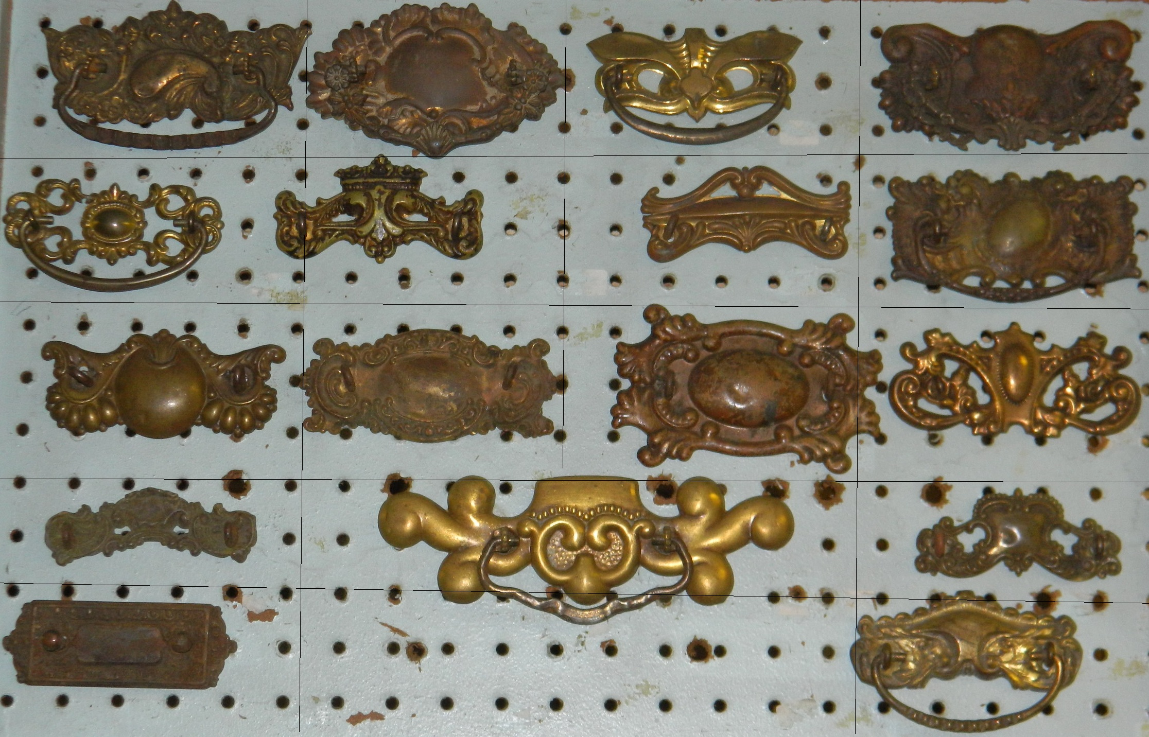 Antique Hardware Drawer Pull Handle